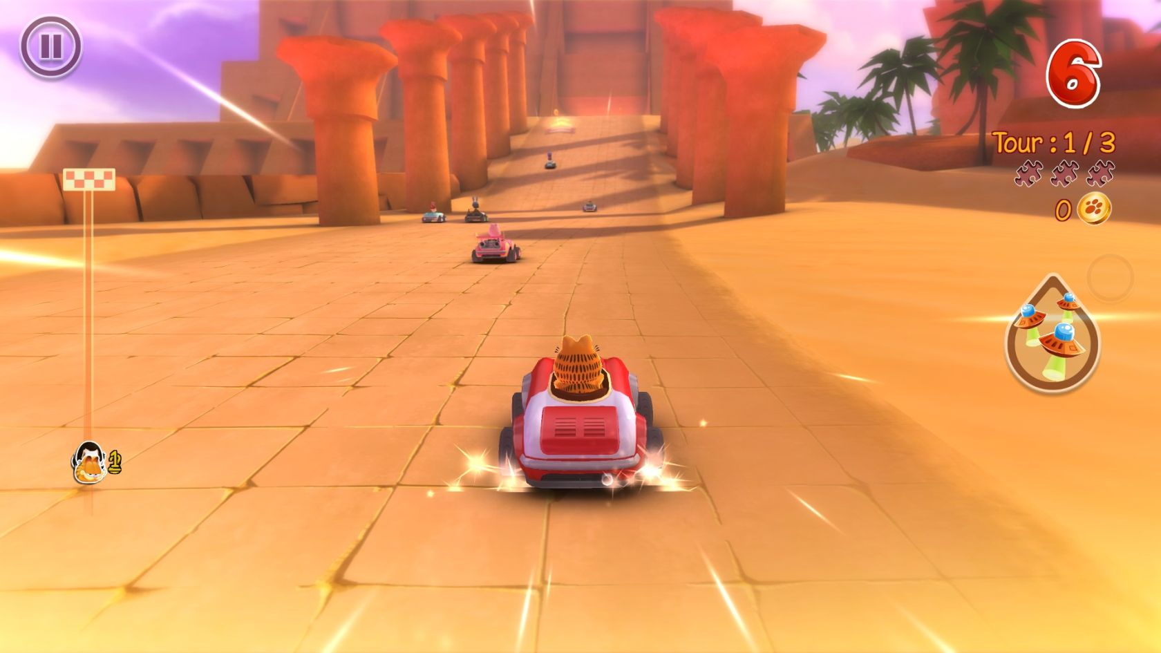 Garfield Kart - Our selection of video games for « Kids »