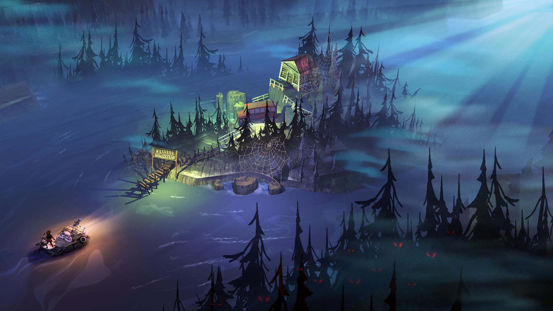 The Flame in the Flood - Our selection of « Adventure - Travel » video games