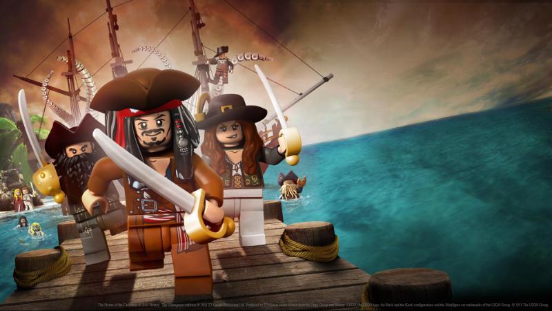 LEGO® Pirates des Caraïbes : Le Jeu Vidéo - Disney