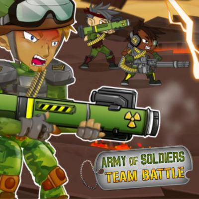 Army of Soldiers : Team Battle
