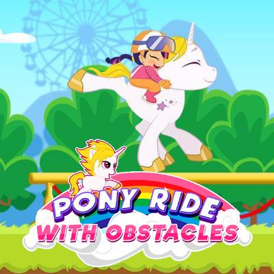Pony Ride With Obstacles