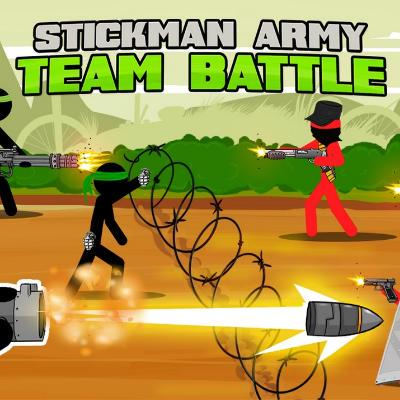 Stickman Army : Team Battle