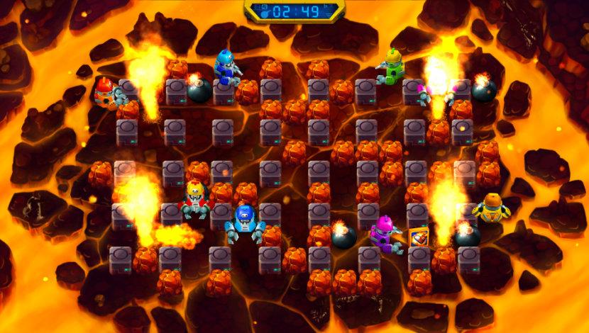 Bombing Bastards - Sanuk Games - Sanuk Games - Blacknut Cloud Gaming
