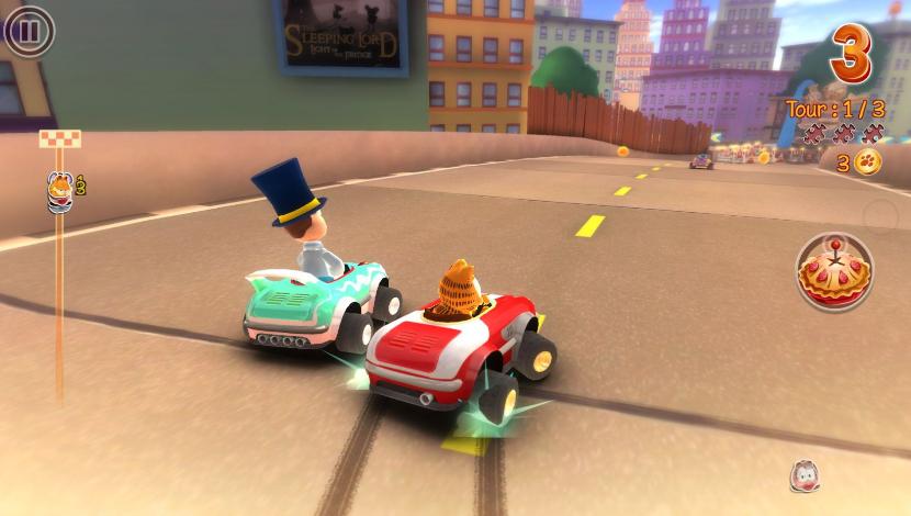 Garfield Kart - Artefacts Studios - Microïds - Blacknut Cloud Gaming
