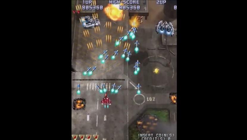 Raiden IV: OverKill - MOSS - H2 Interactive - Blacknut Cloud Gaming