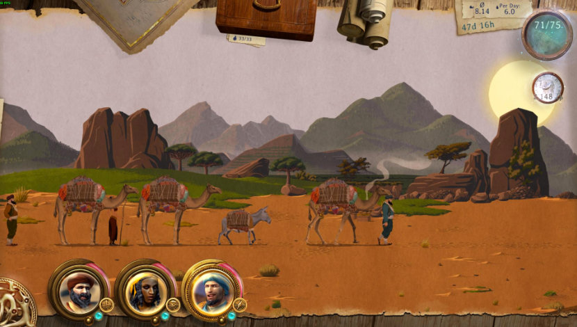 Caravan - It Matters Games - Daedalic Entertainment - Blacknut Cloud Gaming