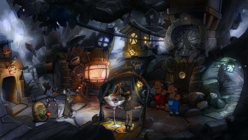 The Night of the Rabbit - Daedalic Entertainment - Daedalic Entertainment - Blacknut Cloud Gaming