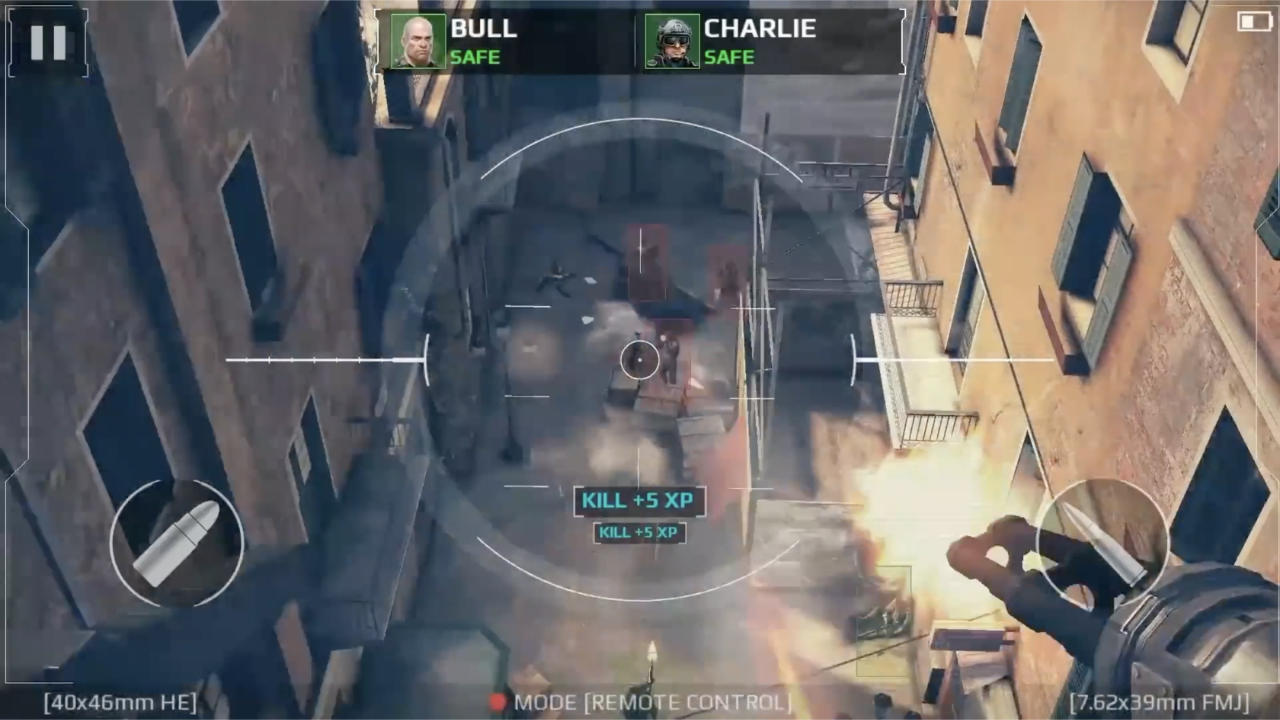 Modern Combat 5 Blackout - Gameloft - Gameloft - Blacknut Cloud Gaming