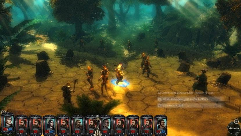 Blackguards - Daedalic Entertainment - Daedalic Entertainment - Blacknut Cloud Gaming