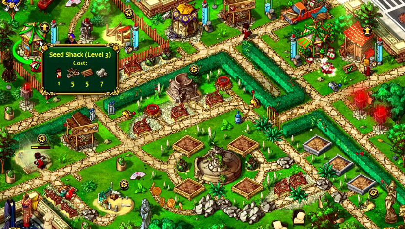 Gardens Inc 2: The Road to Fame - World-Loom - North Tree - Blacknut Cloud Gaming