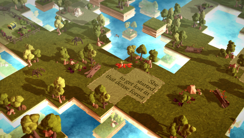 Epistory - Typing Chronicles - Fishing Cactus - Plug In Digital - Blacknut Cloud Gaming