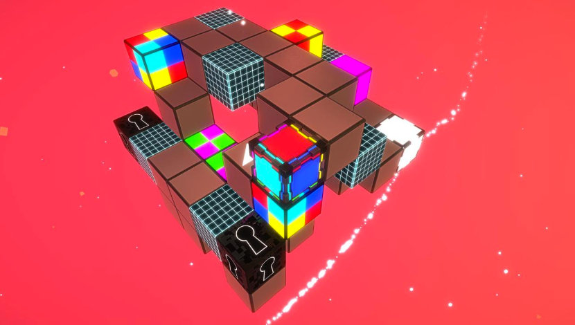 Cubikolor - Fractal Box - Plug In Digital - Blacknut Cloud Gaming