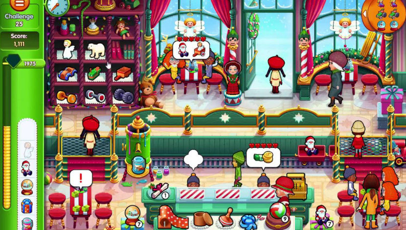 Delicious - Emily's Christmas Carol - GameHouse - GameHouse - Blacknut Cloud Gaming