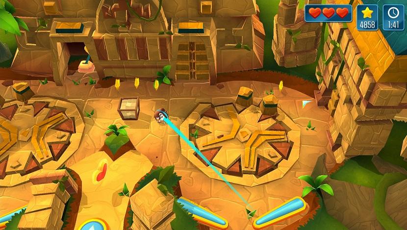 Momonga Pinball Adventure - Paladin Studios - Plug In Digital - Blacknut Cloud Gaming