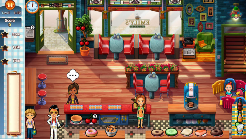 Delicious - Emily's New Beginning - GameHouse - GameHouse - Blacknut Cloud Gaming