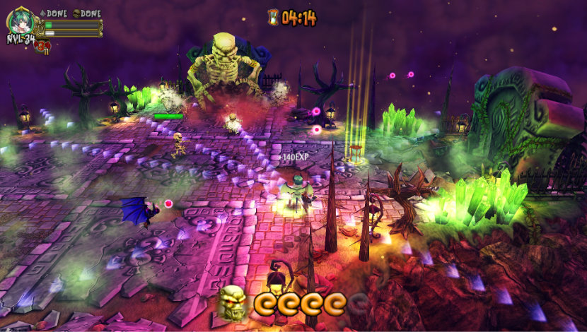 Demon's Crystals - StarCruiser Studio - Badland Games - Blacknut Cloud Gaming