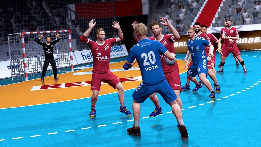 Handball 17 - Eko Software - Nacon - Blacknut Cloud Gaming