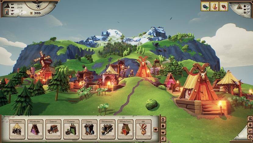 Valhalla Hills - Funatics Software - Daedalic Entertainment - Blacknut Cloud Gaming