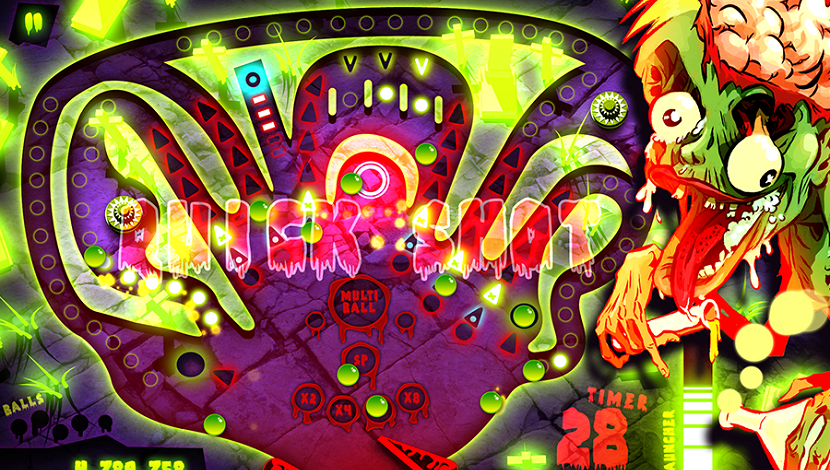 Zombie Pinball - Shine Research - Plug In Digital - Blacknut Cloud Gaming