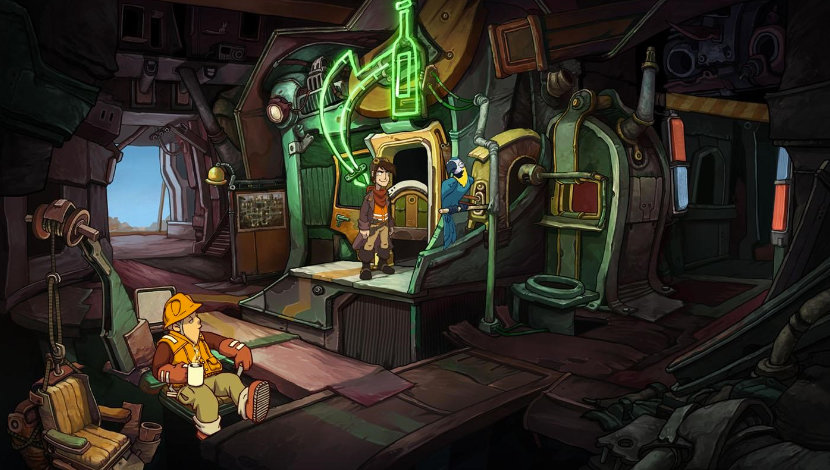 Chaos on Deponia - Daedalic Entertainment - Daedalic Entertainment - Blacknut Cloud Gaming