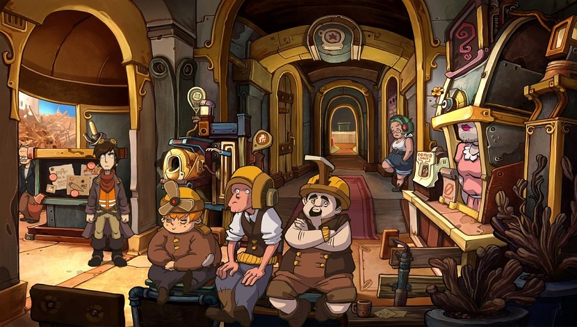 Goodbye Deponia - Daedalic Entertainment - Daedalic Entertainment - Blacknut Cloud Gaming