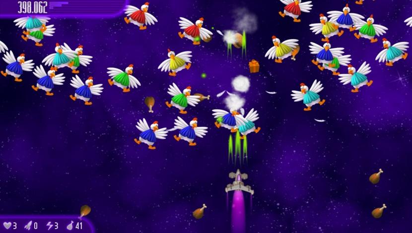 Chicken Invaders 4 - InterAction studios - InterAction studios - Blacknut Cloud Gaming