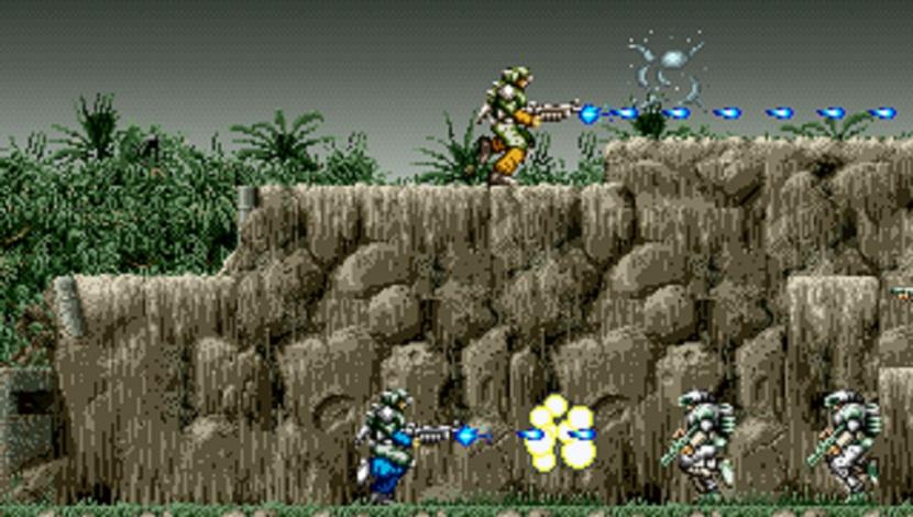 Gun Force - DotEmu - DotEmu - Blacknut Cloud Gaming