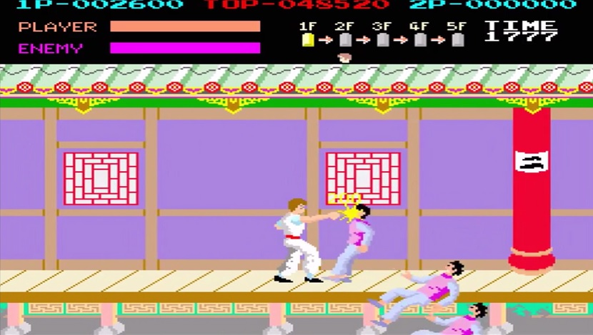 Kung Fu Master - DotEmu - DotEmu - Blacknut Cloud Gaming