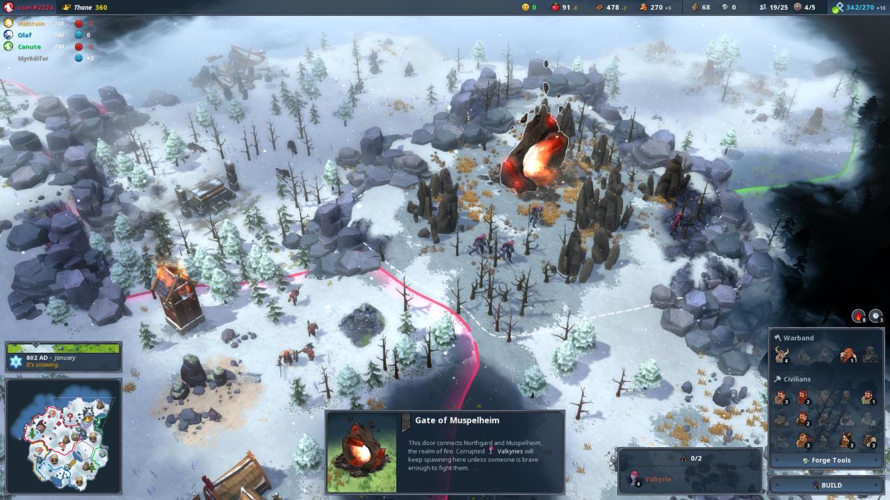 Northgard - Shiro Games - Shiro Games - Blacknut Cloud Gaming
