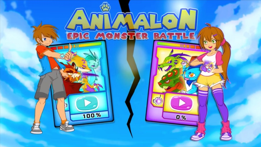 Animalon: Epic Monster Battle - Playtouch - Playtouch - Blacknut Cloud Gaming
