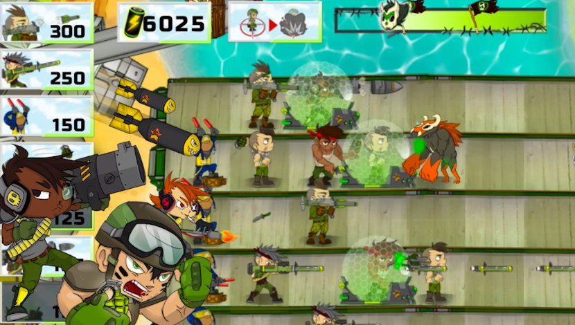 Army of Soldiers: Team Battle - Playtouch - Playtouch - Blacknut Cloud Gaming