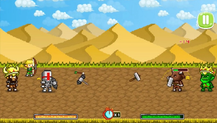 Mini Fighters : Quest & battle - Playtouch - Playtouch - Blacknut Cloud Gaming