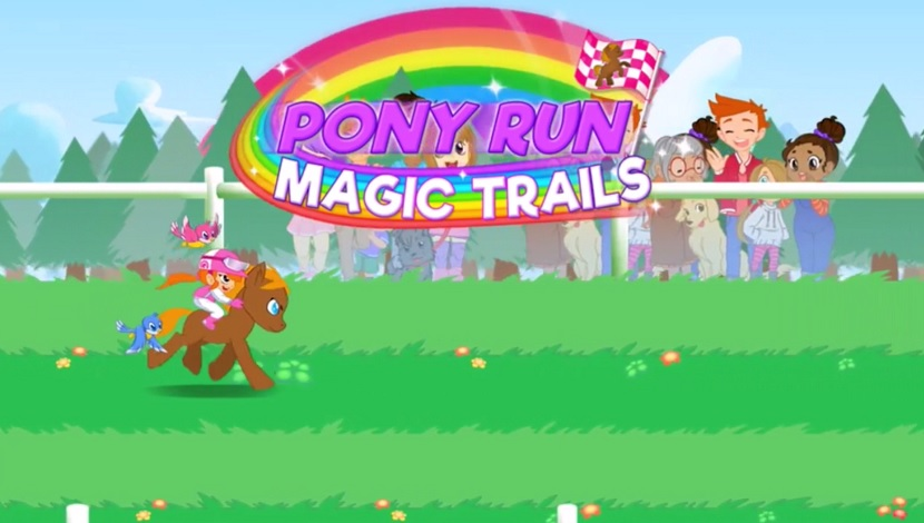 Pony Run : Magic Trails - Playtouch - Playtouch - Blacknut Cloud Gaming