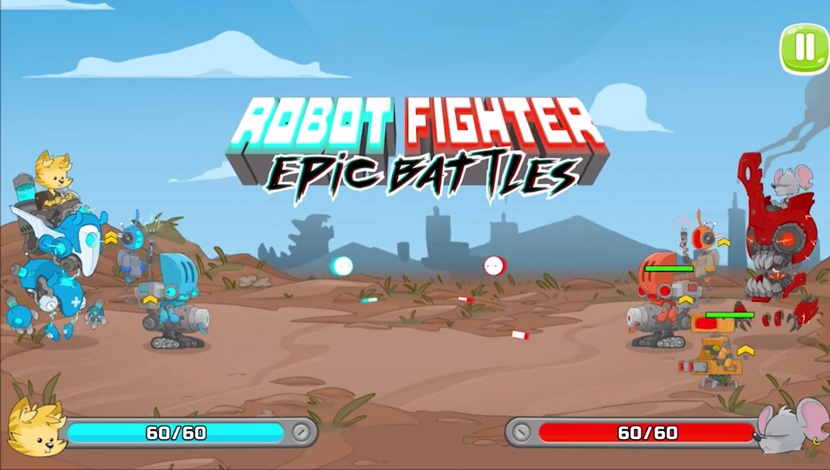 Robot Fighter: Epic Battles - Playtouch - Playtouch - Blacknut Cloud Gaming