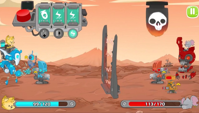Robot Fighter : Epic Battles - Playtouch - Playtouch - Blacknut Cloud Gaming
