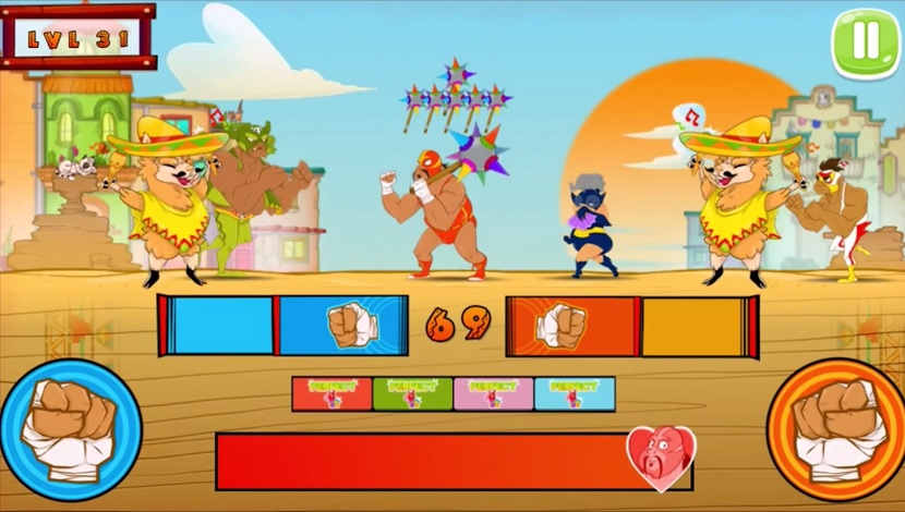 Super Wrestlers: Slaps' Fury - Playtouch - Playtouch - Blacknut Cloud Gaming