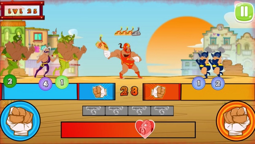 Super Wrestlers : Slaps' Fury - Playtouch - Playtouch - Blacknut Cloud Gaming