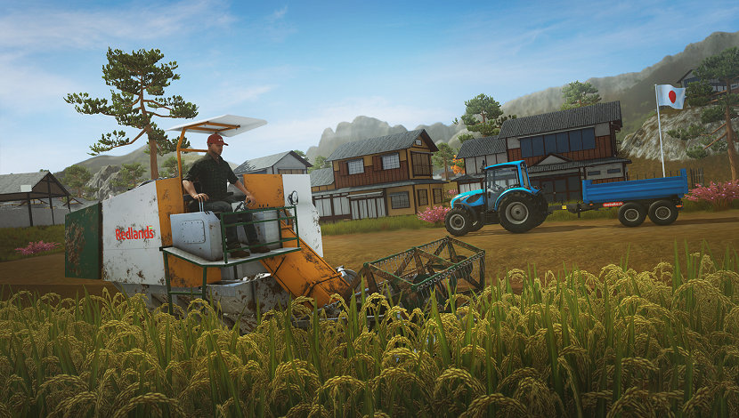 Pure Farming 2018 - Ice Flames - Techland Publishing - Blacknut Cloud Gaming