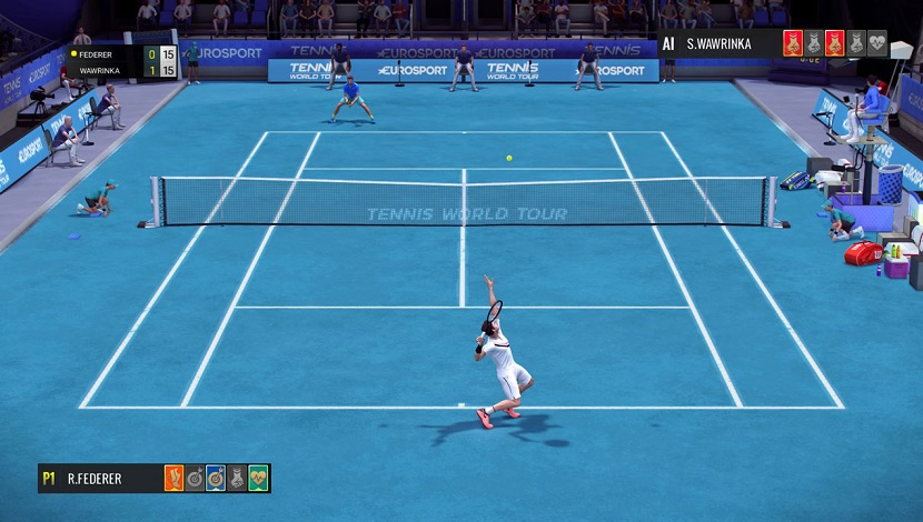 Tennis World Tour - Breakpoint - Nacon - Blacknut Cloud Gaming