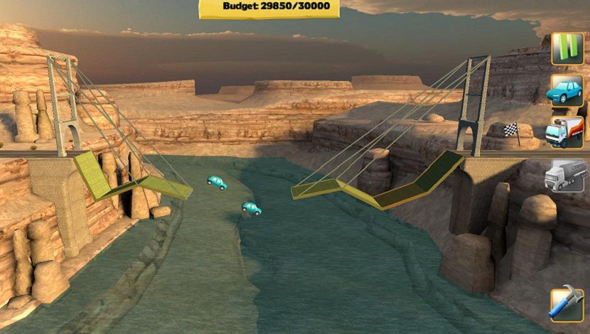 Bridge Constructor - ClockStone - Headup Games - Blacknut Cloud Gaming