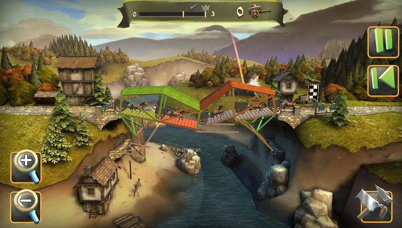 Bridge Constructor Medieval - ClockStone - Headup Games - Blacknut Cloud Gaming