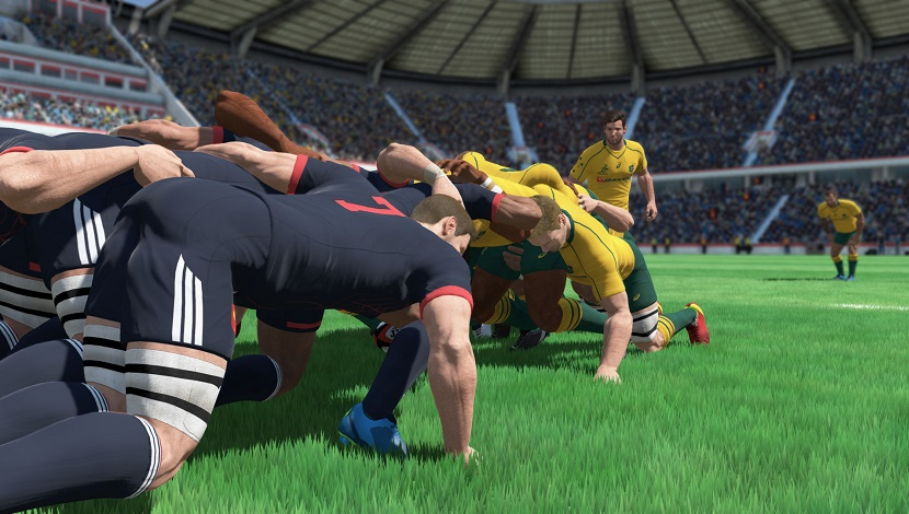 Rugby 18 - Eko Software - Nacon - Blacknut Cloud Gaming