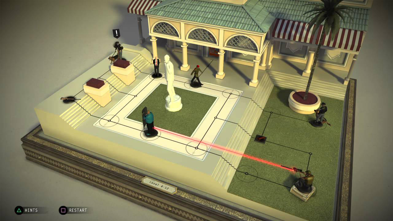 Hitman GO - Square Enix - Square Enix - Blacknut Cloud Gaming