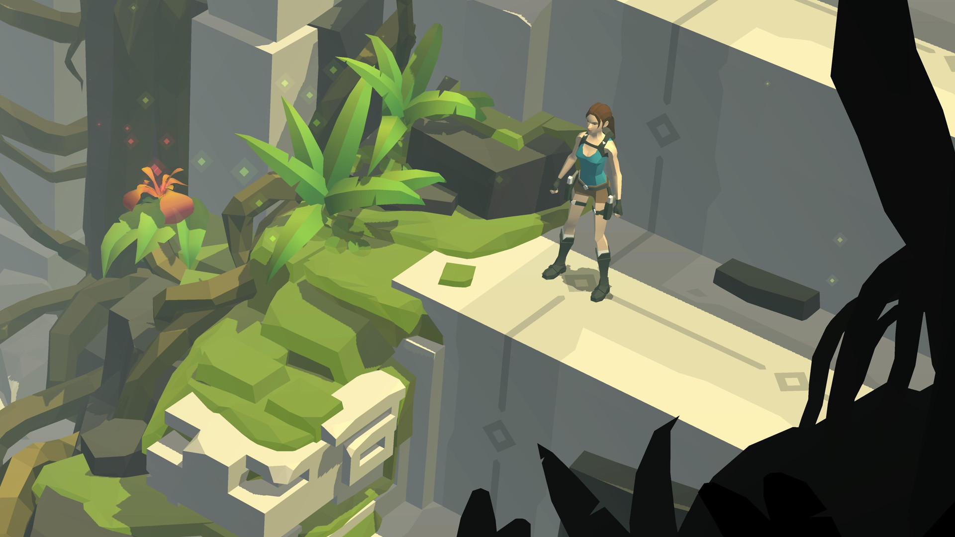 Lara Croft GO - Square Enix - Square Enix - Blacknut Cloud Gaming
