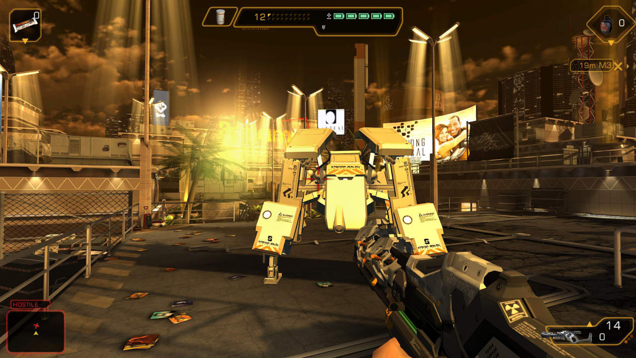 Deus Ex: The Fall - Square Enix - Square Enix - Blacknut Cloud Gaming