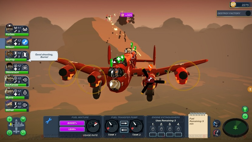 Bomber Crew - Runner Duck - Curve Digital - Blacknut Cloud Gaming