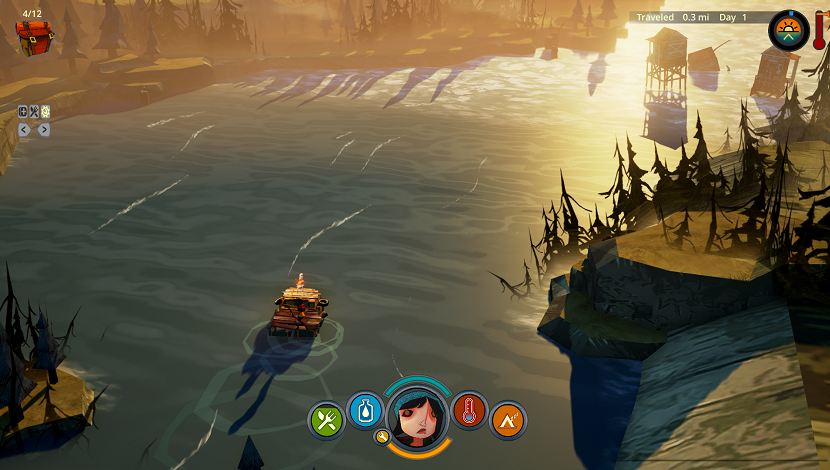 The Flame in the Flood - The Molasses Flood - Curve Digital - Blacknut Cloud Gaming