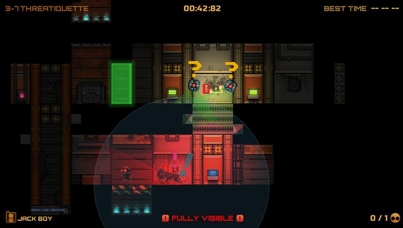 Stealth Inc. 2: A Game of Clones - Carbon - Curve Digital - Blacknut Cloud Gaming