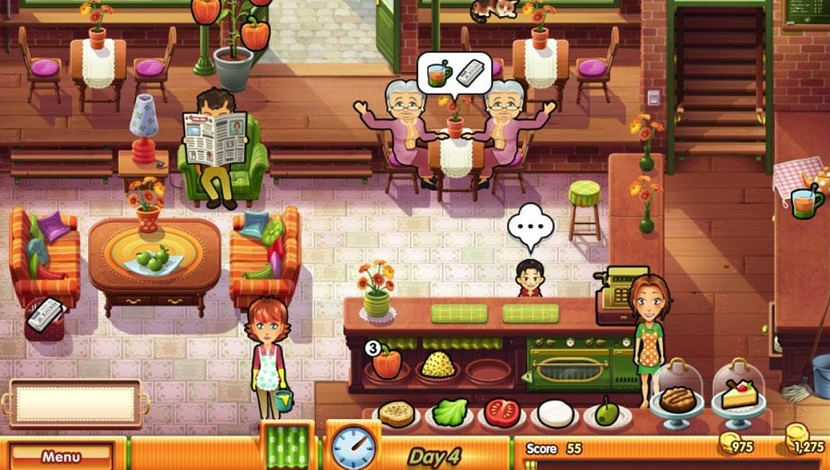Delicious - Emily's True Love - GameHouse - GameHouse - Blacknut Cloud Gaming