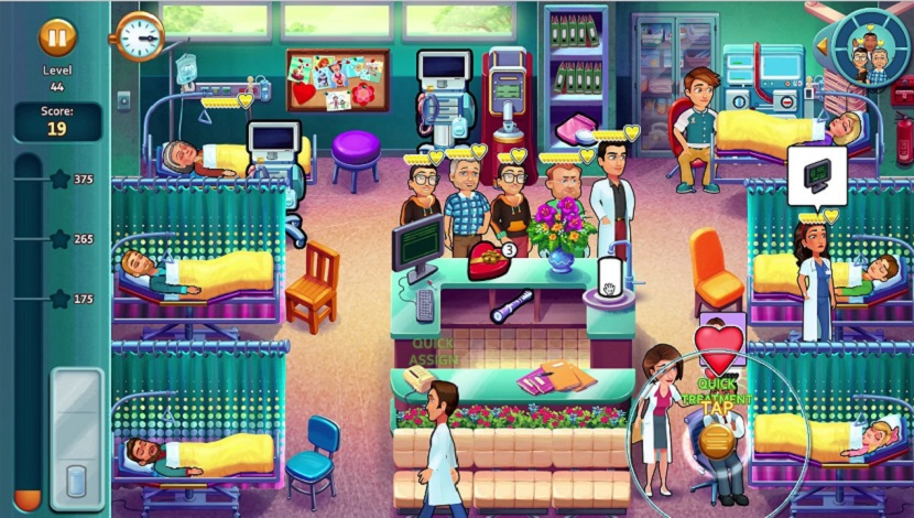 Heart's Medicine - Hospital Heat - GameHouse - GameHouse - Blacknut Cloud Gaming